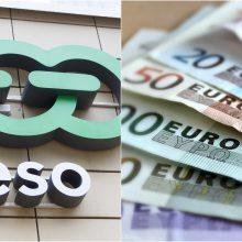 Už bandymą papirkti ESO darbuotoją – beveik 1,7 tūkst. eurų bauda
