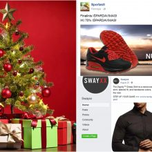 Saugumo ekspertai: Kalėdos – mėgstamiausias sukčių metas