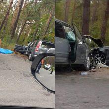 Po dvi gyvybes nusinešusios avarijos Vilniuje dar keturi žmonės pateko į reanimaciją
