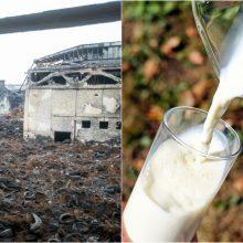 Po gaisro Alytuje pieno vis dar negali tiekti penki ūkininkai