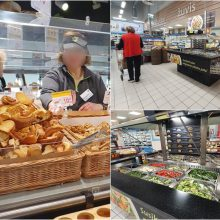 Kaune – gripo epidemija, bet galima laisvai apčiaudėti atvirus maisto produktus