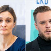 Prezidentas: Seimo pirmininku galėtų būti V. Čmilytė-Nielsen arba G. Landsbergis