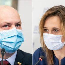 A. Veryga klausimus keliančiai V. Čmilytei-Nielsen: geriau tegu užsiima Seimo darbo organizavimu