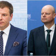 S. Skvernelis pritaria bankų ir prekybos mokesčiams, V. Šapoka siūlo diskutuoti