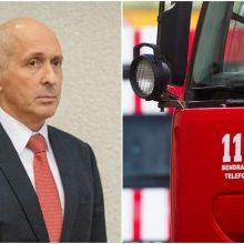 Naujojo ugniagesių vado vizija: atlyginimai turėtų kilti kartu su kvalifikacija