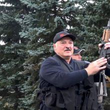 Siūloma nacionalines sankcijas įvesti daugiau kaip 100 Baltarusijos pareigūnų