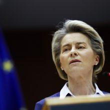 """ES vadovai išreiškė palengvėjimą """"draugui"""" pakeičiant D. Trumpą"""