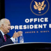 Pensilvanija patvirtino J. Bideno pergalę