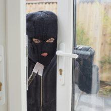 Prienų rajone iš namo pagrobtas seifas su pinigais ir ginklu