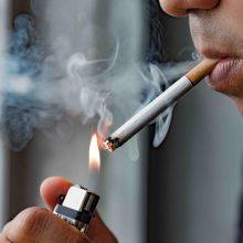 G. Nausėda pasirašė įstatymo pataisas dėl draudimo rūkyti balkonuose