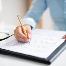 Buvusi pataisos namų profsąjungos pirmininkė bus teisiama dėl dokumentų klastojimo