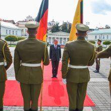 Darbą pradeda nauji Vokietijos, Latvijos ir Rumunijos ambasadoriai Lietuvoje
