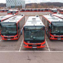 Priešvelykiniai džiaugsmai Kauno gatvėse: visas šimtas naujųjų autobusų