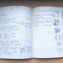 Puslapiai, kuriais D. Kajokas neketino dalytis