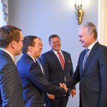G. Nausėda siūlo steigti ES koordinatorių Baltijos šalių sinchronizacijai