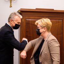 Paskelbtas kandidatų į ministrus sąrašas: G. Landsbergis teikiamas užsienio reikalų ministru