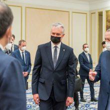 Prezidentas su Turkijos vadovu aptarė situaciją rytiniame NATO flange