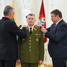 Kariuomenės vadui V. Rupšiui suteiktas aukščiausias karinis laipsnis