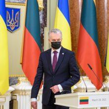 G. Nausėda: Ukrainos ir Lietuvos prekybiniai santykiai kasmet stiprėja