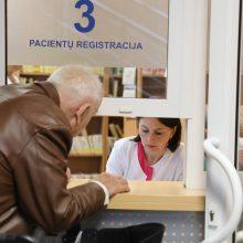 Tikina, kad naujoji pacientų registracijos sistema bus efektyvi ir saugi