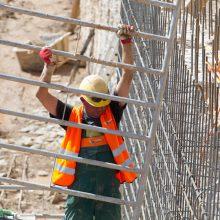 Šiemet daugiausiai mirčių darbe – statybų sektoriuje