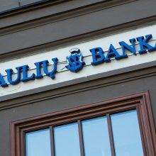 VAAT paliko Šiaulių bankui skirtą 0,88 mln. eurų baudą