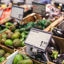 """""""Iki"""" pristatė pirmąją parduotuvę, kurioje visos kainų etiketės skaitmenizuotos"""
