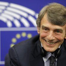Išrinktas naujasis Europos Parlamento vadovas