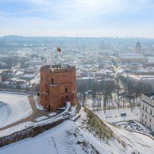 Pirmasis Vilniuje duris atversiantis muziejus – Gedimino pilies bokštas