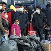 Dvigubas iššūkis Europai: COVID-19 ir pabėgėlių krizė