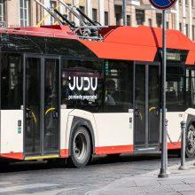 Vilnius kviečia iš namų judėti tik esant būtinybei: keičiasi viešojo transporto tvarkaraščiai