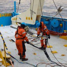 """Švedija suteikė leidimą atlikti """"Harmony Link"""" jūros dugno tyrimus"""