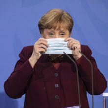 A. Merkel: Vokietija vėl griežtins suvaržymus dėl pandemijos