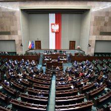 """Lenkijos Senato vadovas įspėjo dėl """"Polexito"""""""