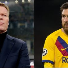 Futbolo pasaulis neriasi iš kailio, o L. Messi tyli