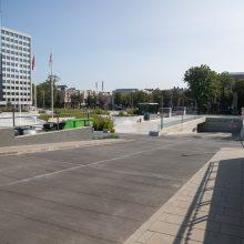Vis daugiau miestiečių atranda Vienybės aikštės stovėjimo aikštelę