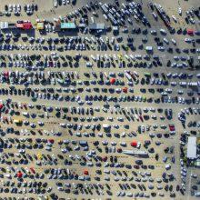 Svarstoma apie prievolę deklaruoti automobilių sandorius
