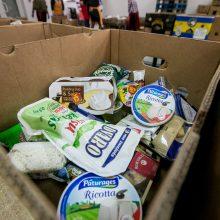 Neišmestas maistas – pagalba skurstantiems