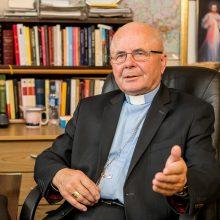Sekmadienį vyks kardinolo S. Tamkevičiaus SJ ingresas Romoje