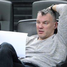 Š.Jasikevičius: dar nežaidžiame Eurolygos krepšinio