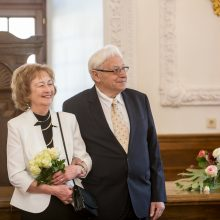 Deimantines vestuves pažymėję kauniečiai: tai šventė ne tik mums, bet ir anūkams