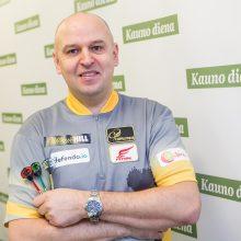 D. Labanauskas – Europos čempionate, pirmas varžovas – M. van Gerwenas