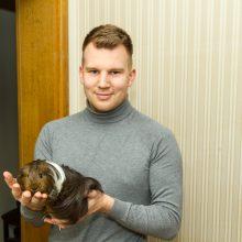 Prieraišios ir uostinėjančios pasaulį Luko jūrų kiaulytės
