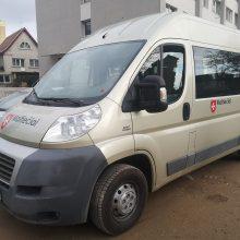 Aukojančio verslo dovana: Kauno gatvėmis jau rieda naujas maltiečių autobusiukas