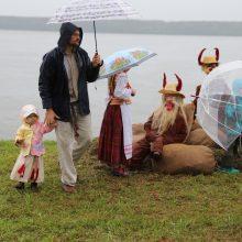 Samyluose aidėjo nuskendusių kaimų legendos