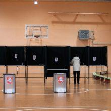 Rinkėjų aktyvumas Seimo rinkimų antrajame ture siekė 39,7 proc.