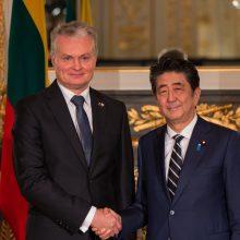 G. Nausėda Tokijuje: būtina įvertinti atominės energetikos grėsmes