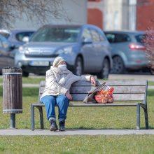 Apklausa: Lietuvos gyventojai pritartų griežtesnėms karantino priemonėms