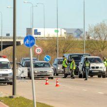 R. Požėla: ilgąjį savaitgalį 15 tūkst. vairuotojų nepasiekė kelionės tikslo