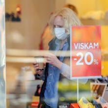 Daugiausia karantino reikalavimų pažeidimų – Vilniaus prekybos vietose